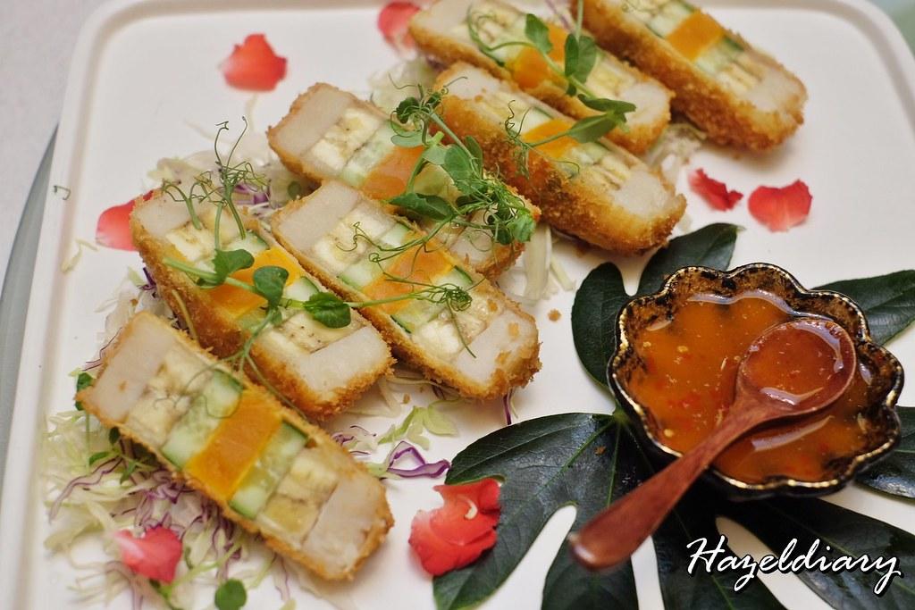 Crystal Jade Restaurants-Crispy Colourful Scallop and Jackfruit Roll