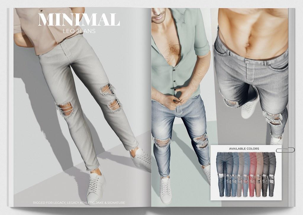 MINIMAL - Leo Jeans