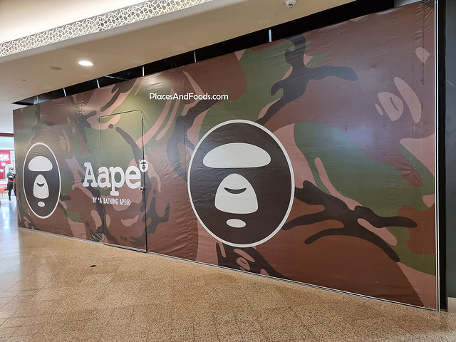 aape by bape mid valley kl