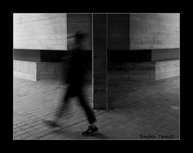 Walking along the walls -b