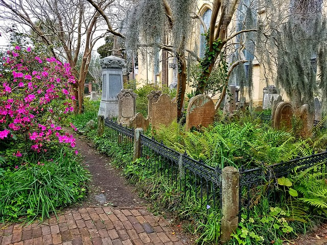 Unitarian Church and Graveyard- Charleston SC (6)