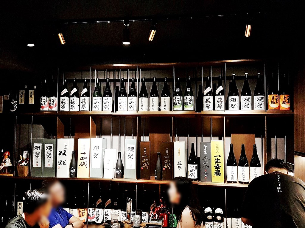 Sake Shelf