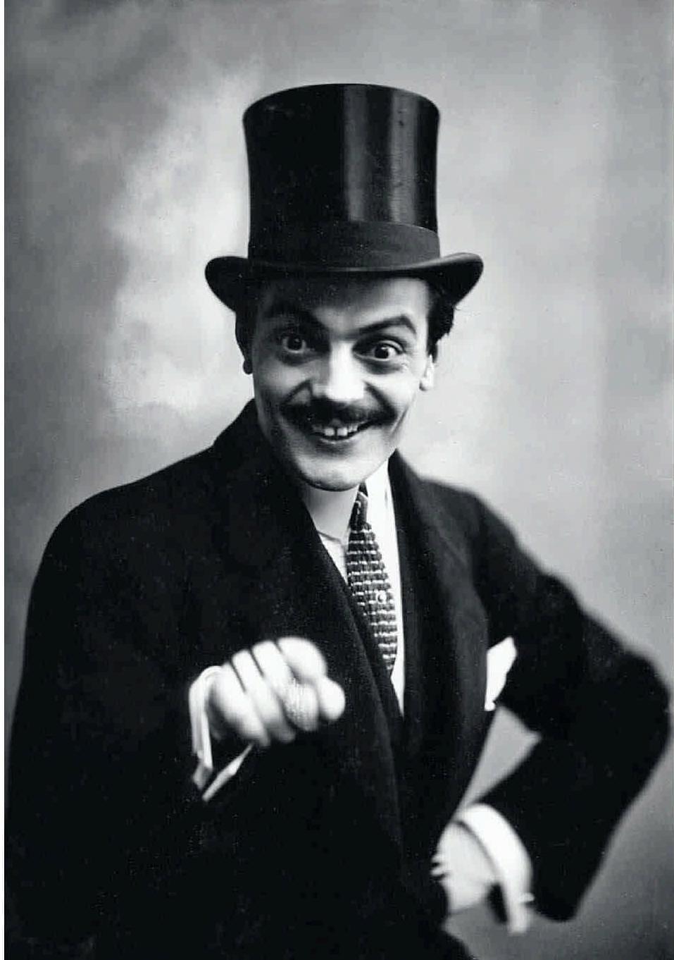1913. Актер и режиссер Макс Линдер в Санкт-Петербурге