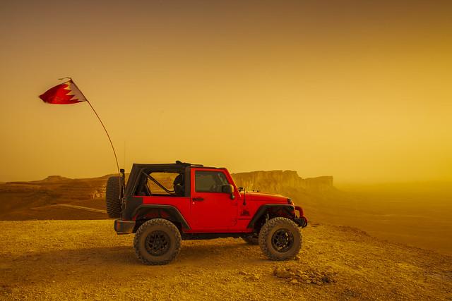 Off-road in the desert, الطرق الوعرة في الصحراء