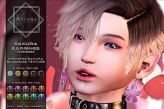 Astara - Sakura Earrings Ad