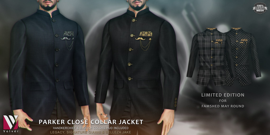Volver – Parker close collar Jacket