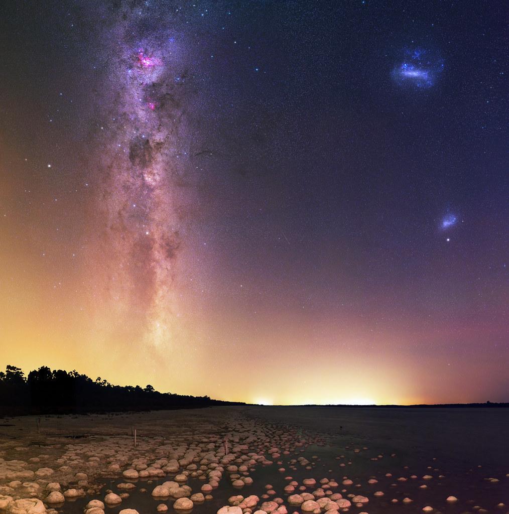 Summer Milky Way at Lake Clifton, Western Australia