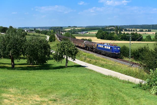 110 262-3 BayernBahn I DGS 59970 I Ebermergen / Wörnitzstein (12471)