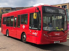 First day of operation for these ex-Kingston single door buses on a tiny, interesting route with a large Hail & Ride section and some steep hills. | Abellio London ADL Enviro 200 working the 315 to Balham.