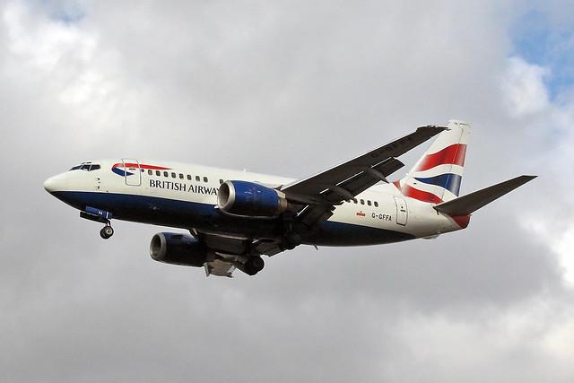G-GFFA Boeing 737-590 British Airways LGW 27-02-08