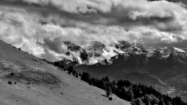 Clouds on Belledonne