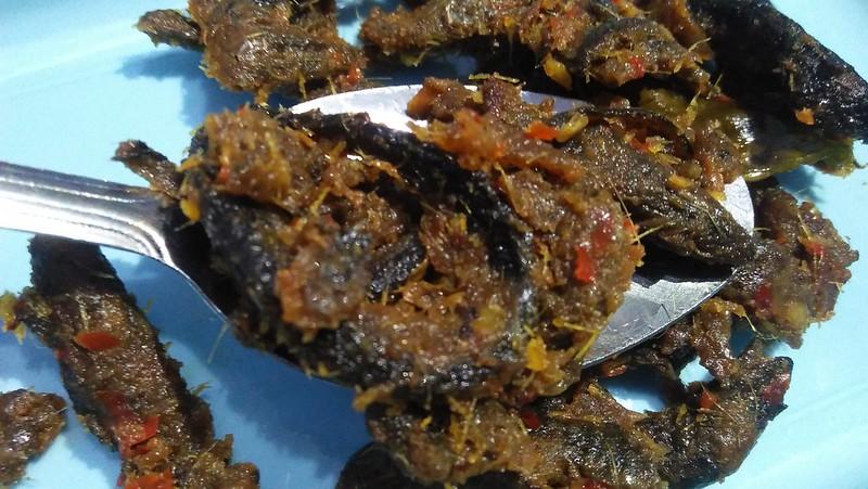 Rendang belut good fish