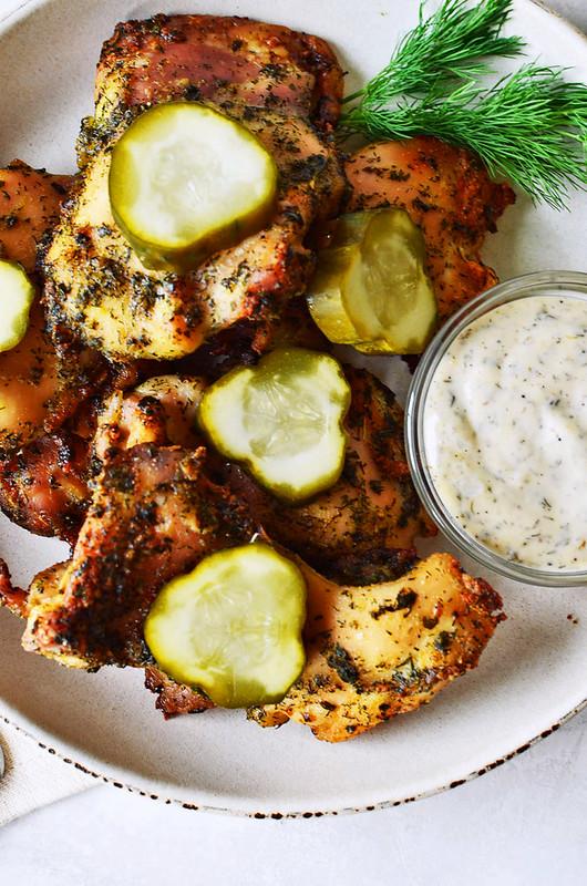Sheet Pan Crispy Ranch Chicken {gluten-free, paleo, keto, whole30}
