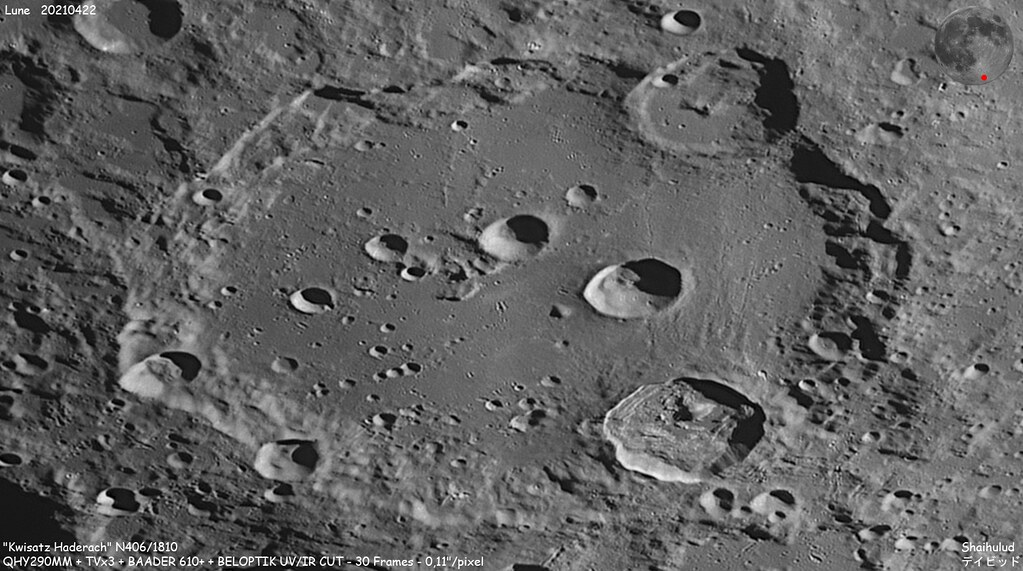Lunar flight of 20210422