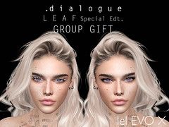 .dialogue LEAF special edt GROUP GIFT