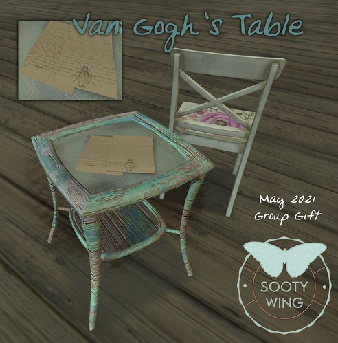 Van Gogh's Table - Sooty Wing Group Gift