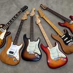 My Six-String Electric Guitars