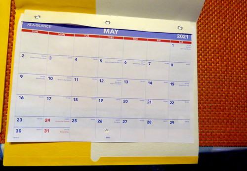 May 2021 Diary