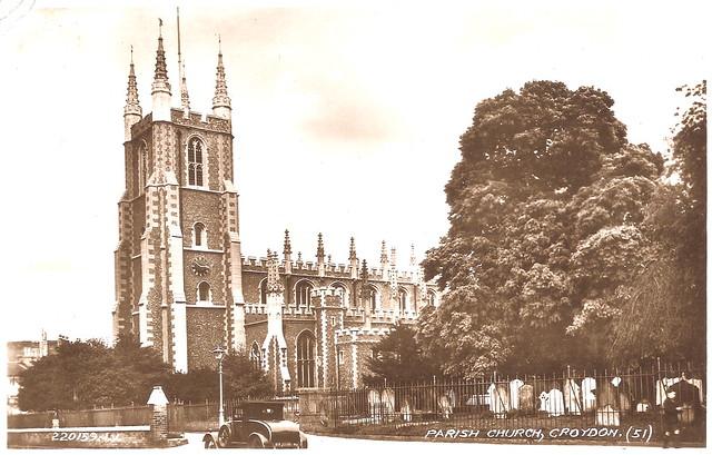 Croydon - Parish Church Prior to 1934