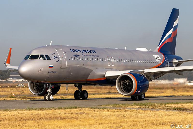 A320-251N Aeroflot // VP-BPQ (F-WWDF)