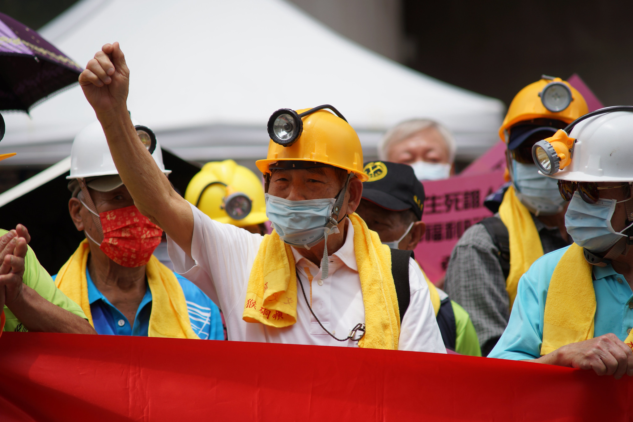 高齡90歲的老礦工。(攝影:王顥中)