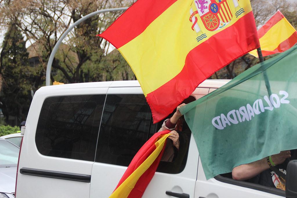 Manifestación del 1 de mayo en Barcelona convocada por el sindicato Solidaridad