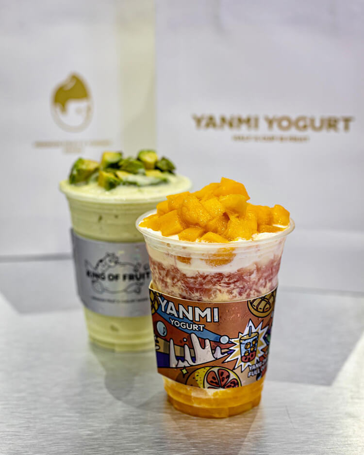 Smoothie Mangga Yogurt Yanmi