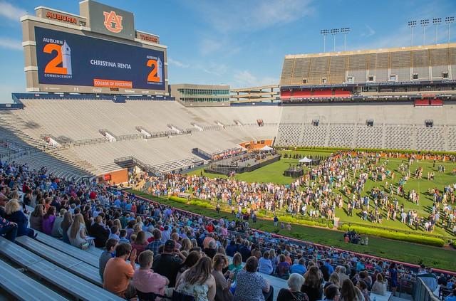 Auburn commencement at Jordan-Hare Stadium