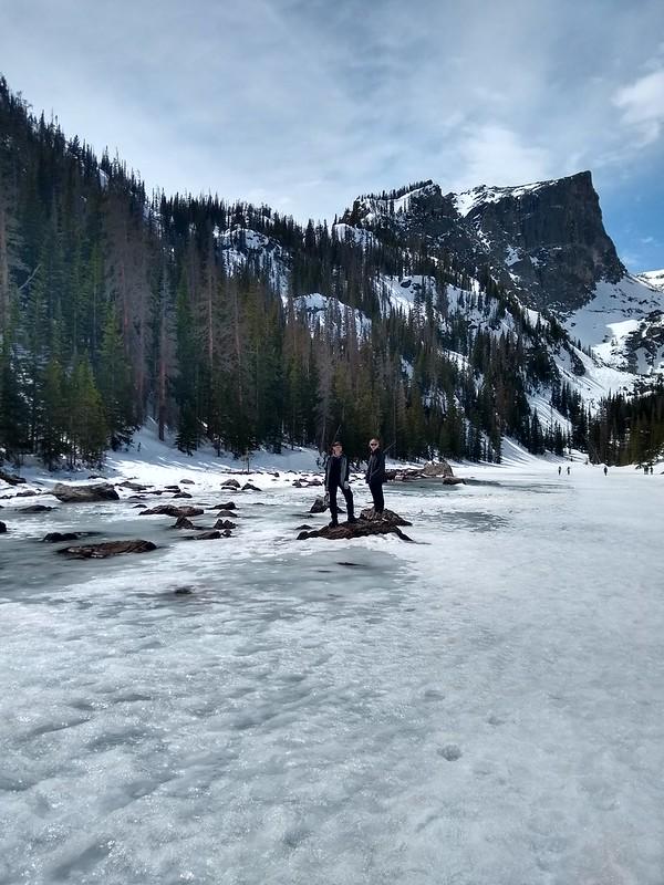 Colorado Rocky Mountain NP Dream Lake