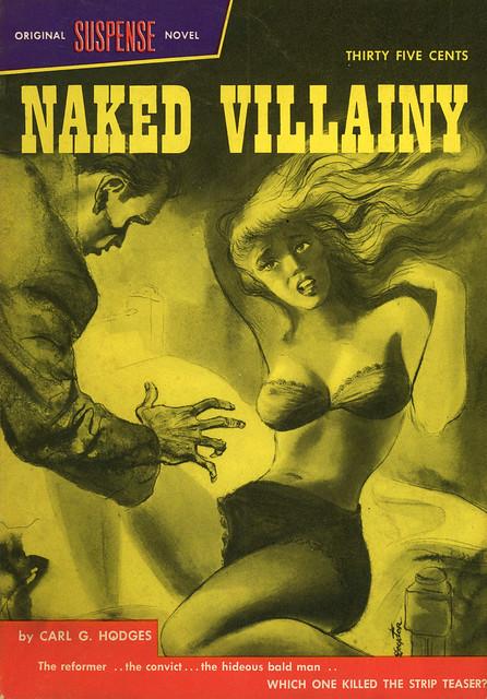 Suspense Novels 3 - Carl G. Hodges - Naked Villainy