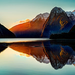 Evening Milford Sound