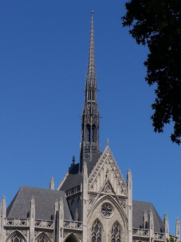 Pittsburgh Pennsylvania  ~ Heinz Memorial Chapel ~ Vintage Photo