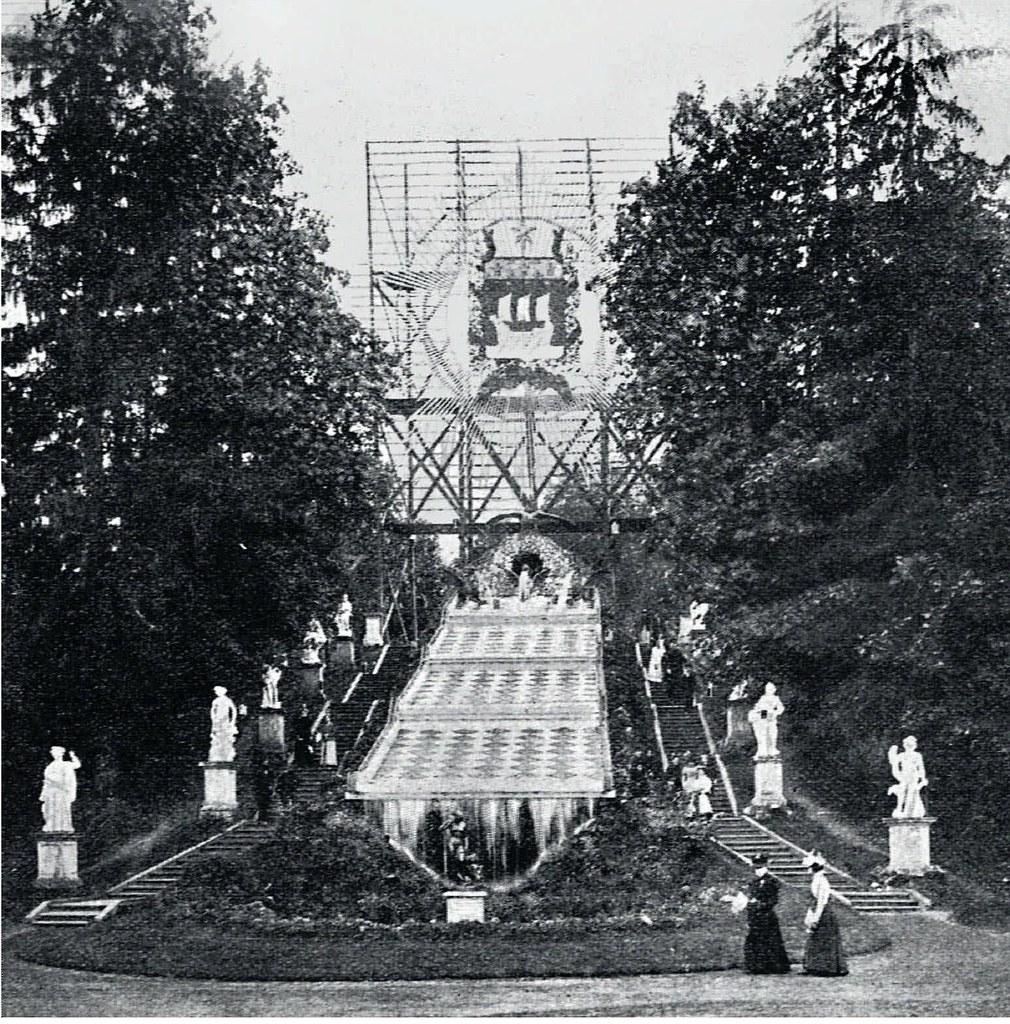 1897. Убранство Петергофа в честь президента Франции Ф.Фора