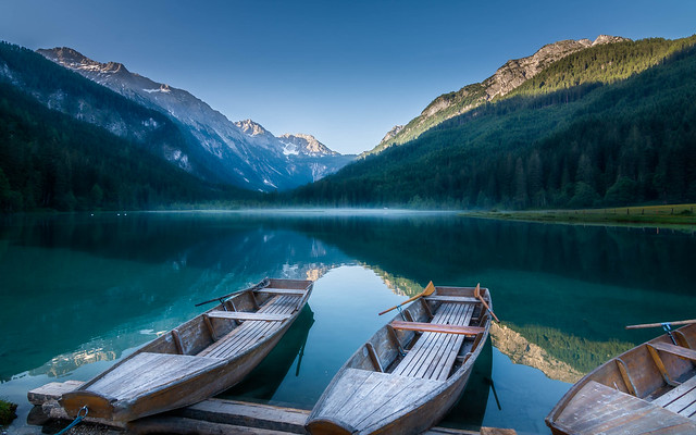 Lake in the Austrian Alps