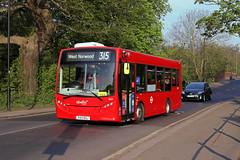 Route 315, Abellio London, 8122, YX13EHJ