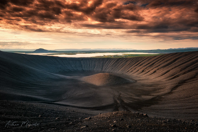 Hverfjall Volcano Crater - Lake Mývatn (Iceland)