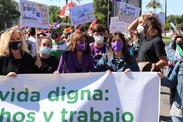 Unidas Podemos por Andalucía 1 MAYO