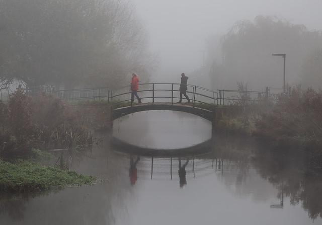 Misty morning, explore 2/5/21