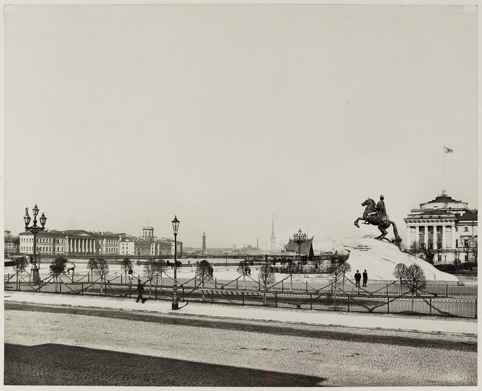 1910. Сенатская площадь