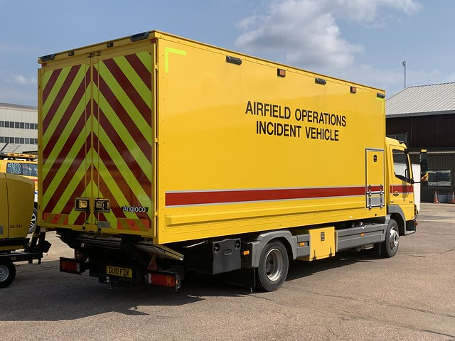 London Gatwick Airfield Ops Incident Vehicle