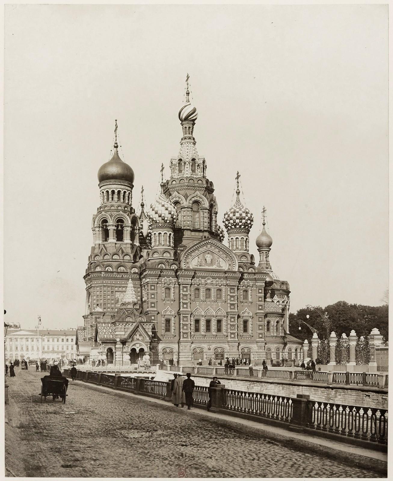 1907. Храм Спаса-на-Крови