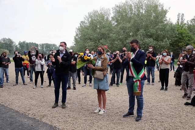 Commemorazione Senna e Ratzenberger