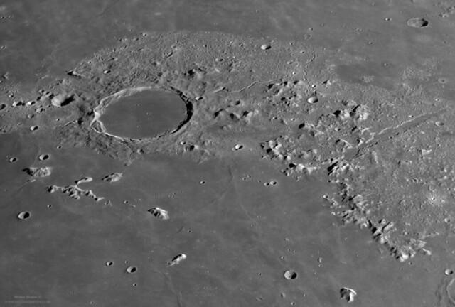 Plato and Vallis Alpes
