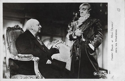 Harry Baur and Max Dearly in Les Misérables (1934)