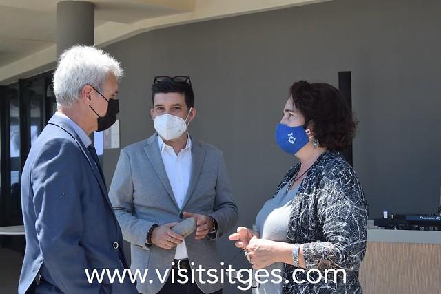 Presentació dels ambaixadors del SIYES en el ME Sitges Terramar