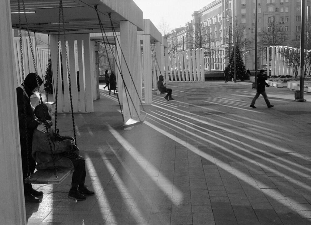 Street scene, December 202p