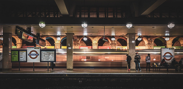 Gloucester Road tube station, London グロスター・ロード地下鉄駅、ロンドン