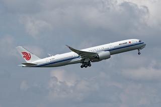 Delivery Flight msn474 B-322Y 2/5/2021