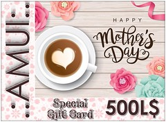 AMUI GIFT CARD MOTHERS DAY