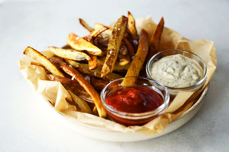 Perfect Crispy Oven Fries - How to Make Homemade Baked French Fries